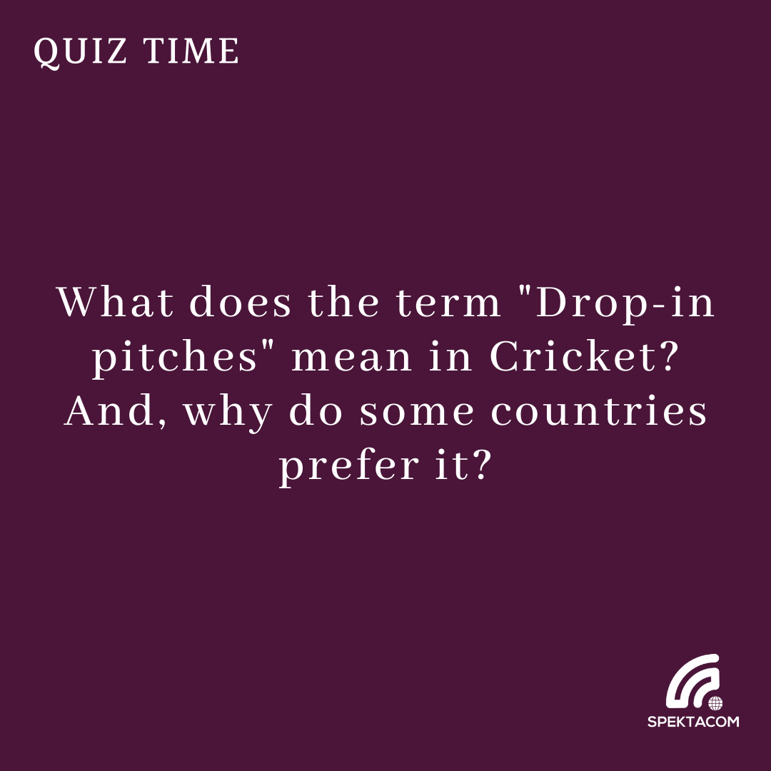 Drop-in your answers in the comment section 😉 #ThursdayFun #Spektalk #Cricket #Quiz 43