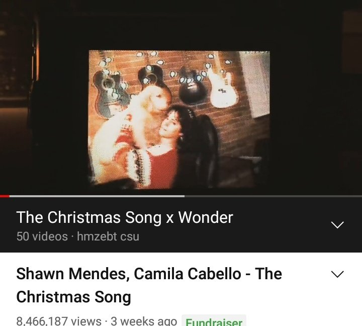 1,533,813 views to go. Streaming #TheChristmasSong on youtube right now. 💗 lets goooo