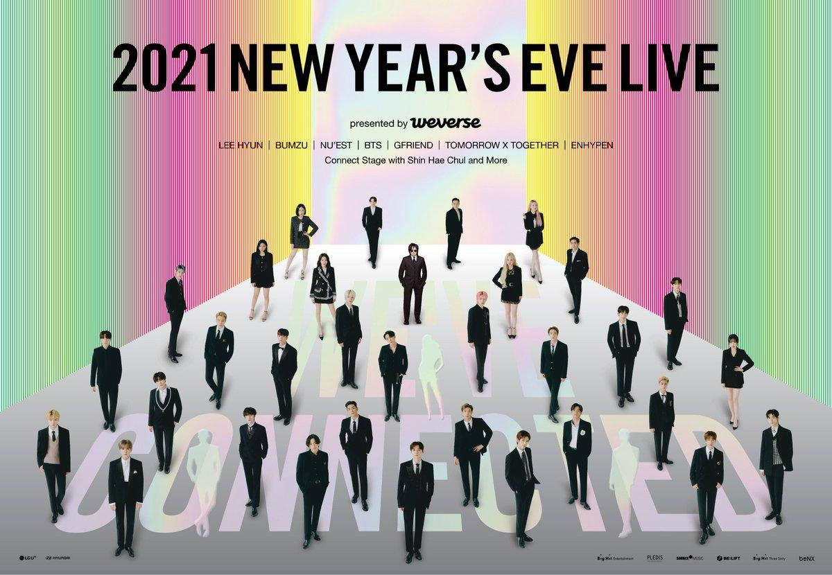 Giveaway 2021 NEW YEAR'S EVE LIVE  Requisitos: Seguirme  dar fav y rt :)  No se que tanto tiempo lo dejaré pero buena suerte 💜