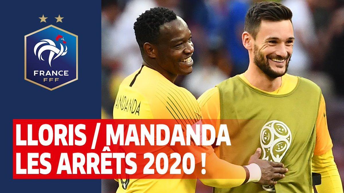 Lloris / Mandanda, leurs plus beaux arrêts en 2020 ! #FiersdetreBleus