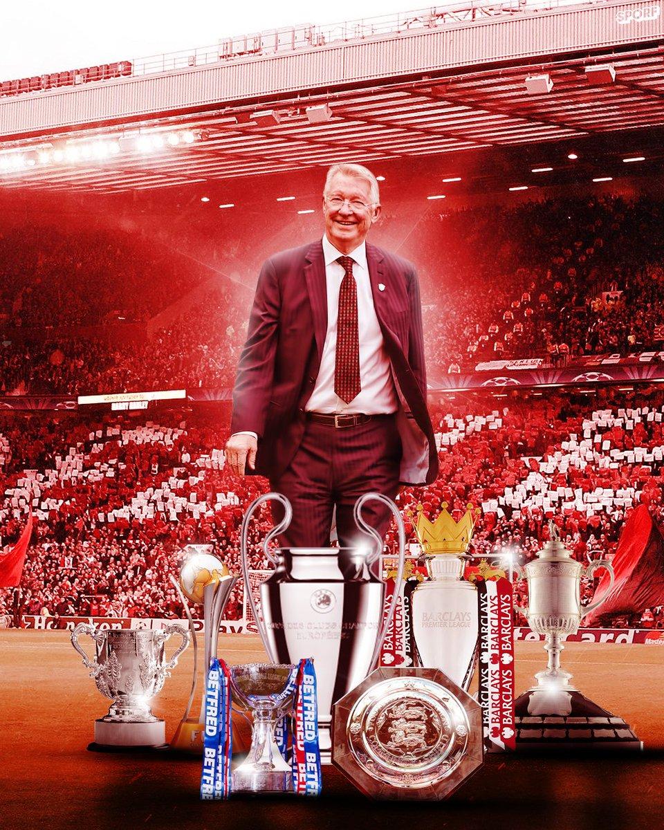 🎉 Happy 79th Birthday, Sir Alex Ferguson!  🔴 26 years as @ManUtd boss:  🏟 1,500 Games ✅ 895 Wins  13 🏆🏴 Premier League 10 🏆🏴 Community Shield 5 🏆🏴 FA Cup 4 🏆🏴 League Cup 2 🏆🇪🇺 UCL 1 🏆🇪🇺 European Super Cup 1 🏆🌍 Intercontinental Cup 1 🏆🌍 Club World Cup  🐐