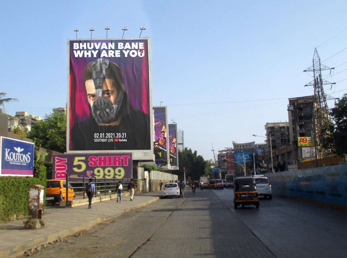 Har gully mein ab @Bhuvan_Bam hain🔥 #YRUonJan2 #WhyAreYou #BBKiVines #southbaylive