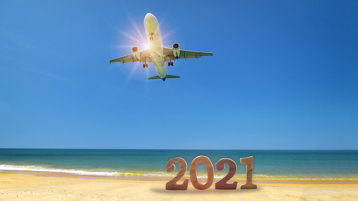 Whether you're traveling over the holidays or staying safe at home, have a Happy New Year! All of us at MSN Airport look forward to a brighter year in 2021 with more opportunity for safe travel.  #HappyNewYears #HolidayTravel #2021