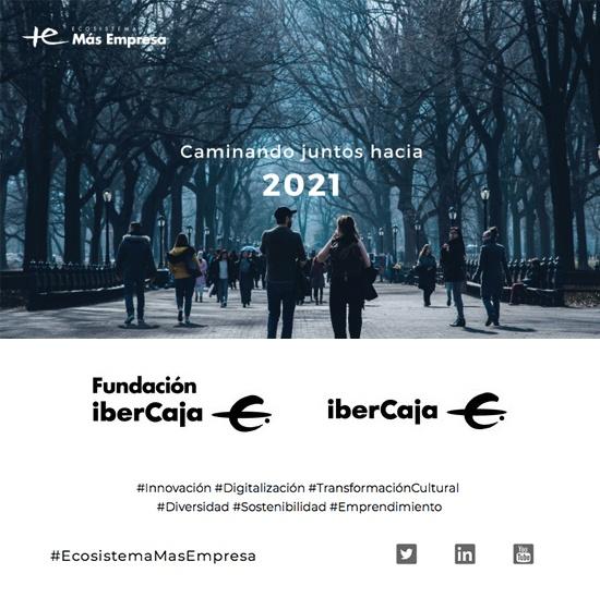 Caminando juntos hacia 2021.  ¡Por un nuevo año lleno de innovación, digitalización, transformación cultural, diversidad, sostenibilidad y emprendimiento!   @EcosistemaMas #EcosistemaMasEmpresa https://t.co/F3JhZgQvOg