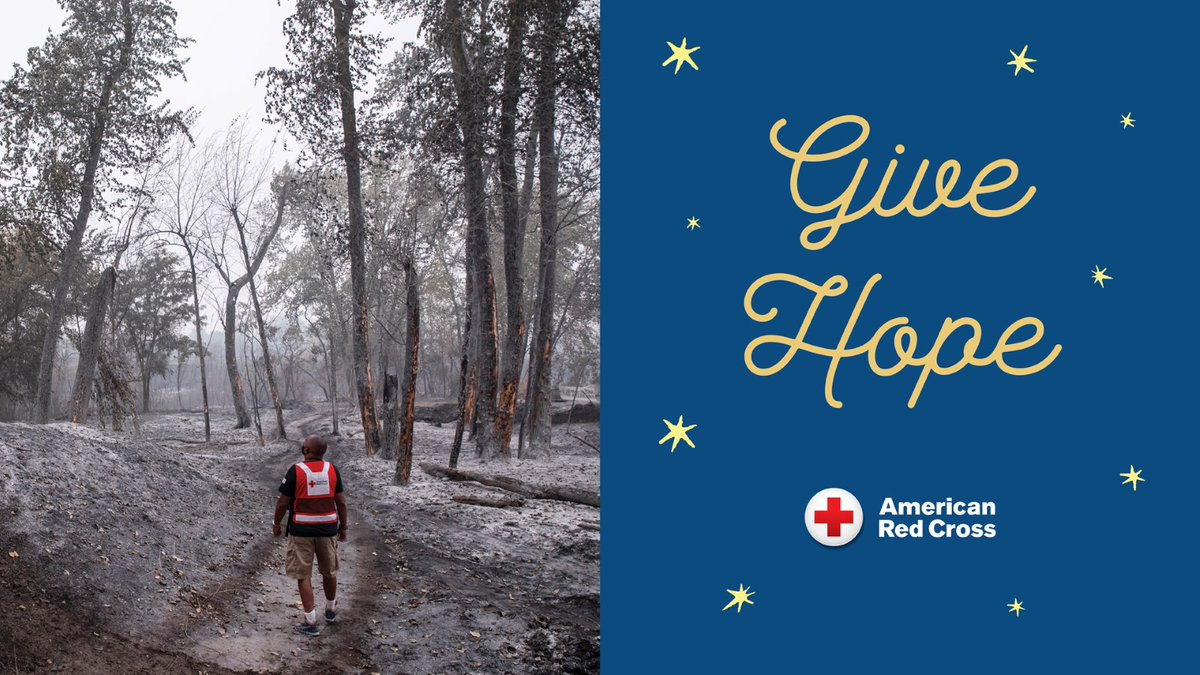 Celebrate the best of the holiday giving season by making a holiday donation in the name of a loved one. All holiday donations are tax-deductible contributions to the Red Cross.  #GiveWithMeaning