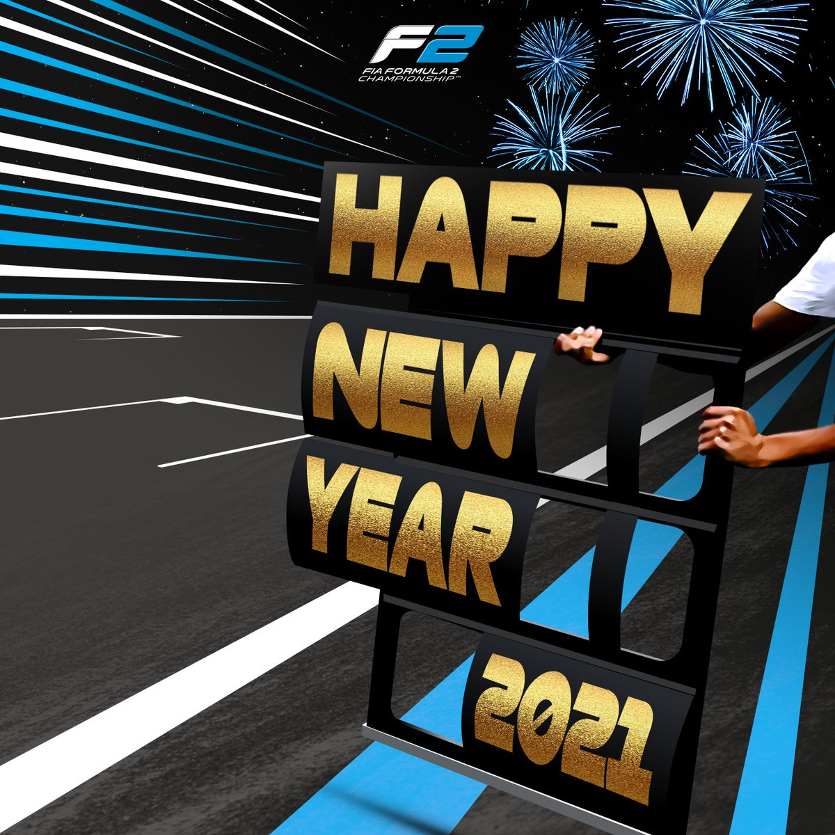 Here's to 2021 🥂  #F2 #HappyNewYear