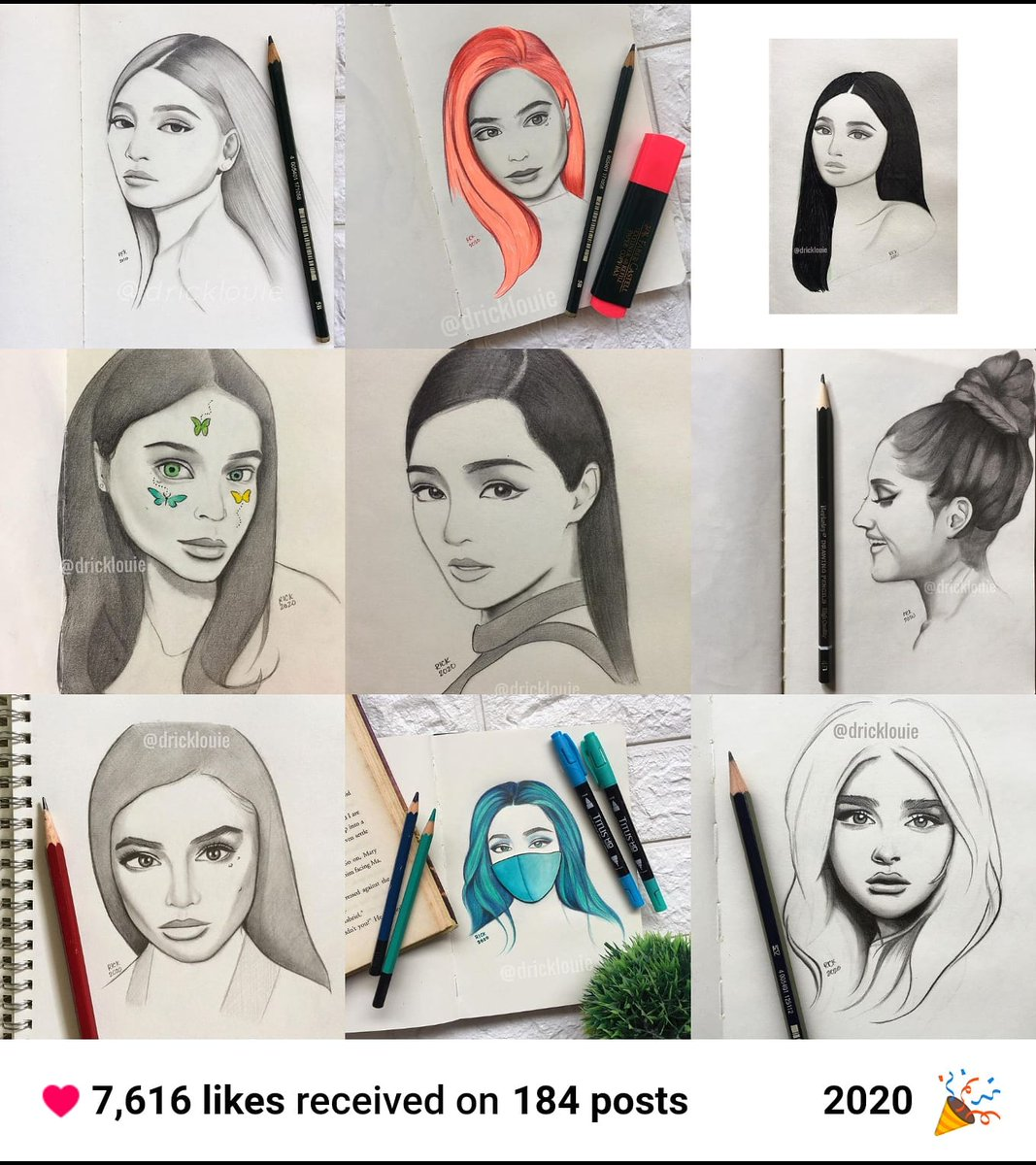 Best Nine 2020 on my IG! ☺️ #nadinelustre #annecurtis
