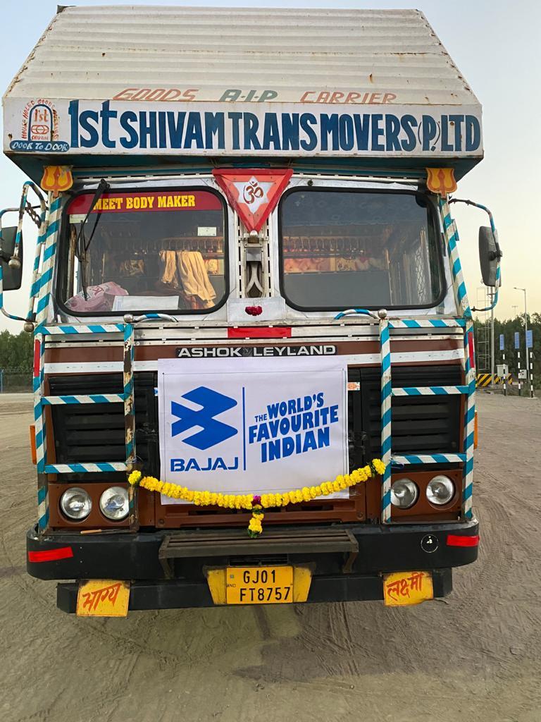 Bajaj Auto ships its first consignment through Ghogha Hazira RoRo ferry to Saurashtra