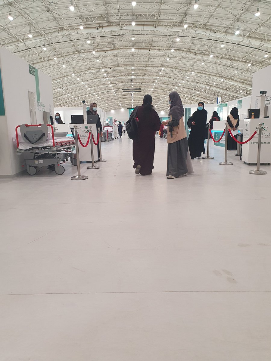 @VOANews Thanks to our government  and MOH for the modern facilities and electronic schedules for all senior people  who complete COVID-19 vacancie in 30 minutes total visit to vaccination centres all around kingdom of Saudi Arabia. https://t.co/v4zisMxFRM