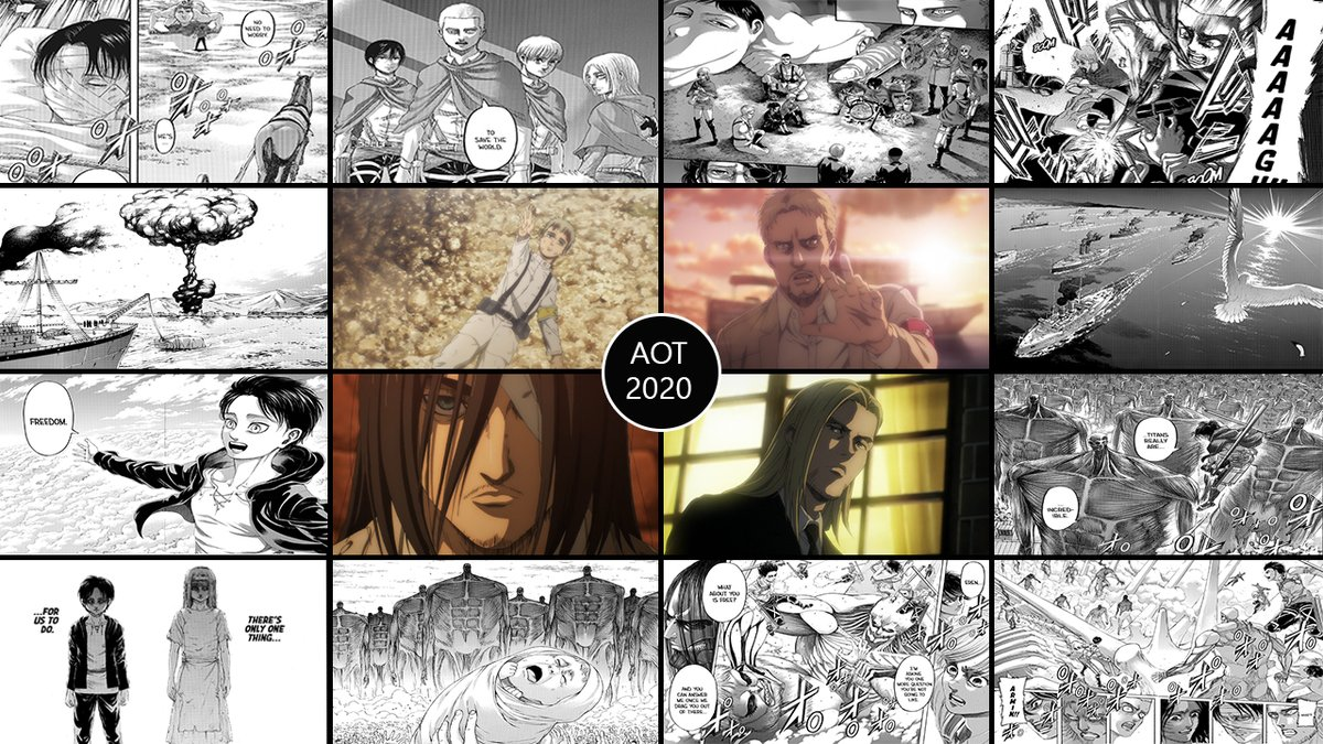Replying to @BlastITA_: 2020 was a Fantastic Year for Attack on Titan!