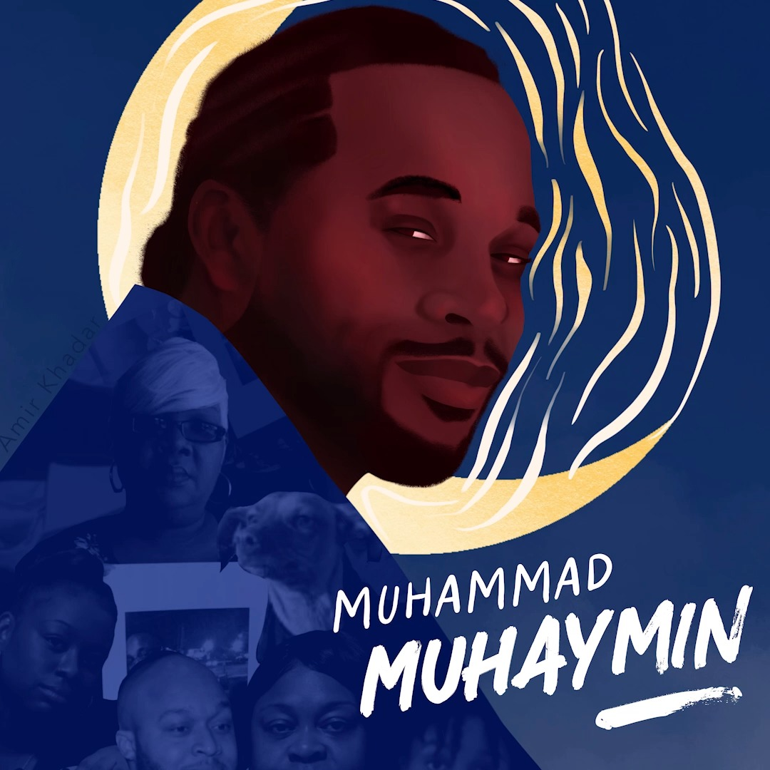 WE SAY HIS NAME!   Jan 4 marks another year since #MuhammadMuhaymin was slain by PHX police.  🔹 Sign his tribute card:   🔹 RT this video tribute w/ his sister Zarinah @RepAndreCarson @PoderinAction @blmphxmetro @ForumMothers @NDRNadvocates @AmirKhadar