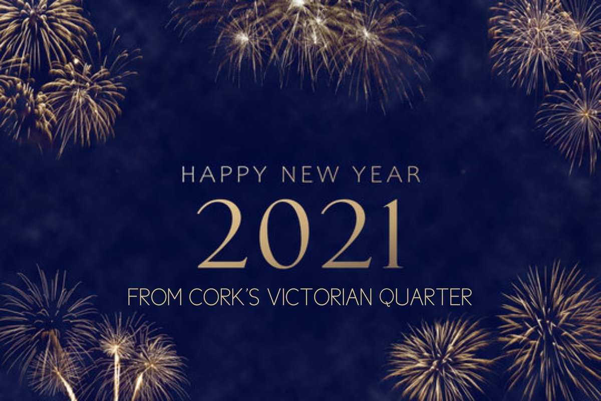 Happy New Year from all of your friends  in The V.Q. We'll see you again soon, but until then stay home and stay safe!