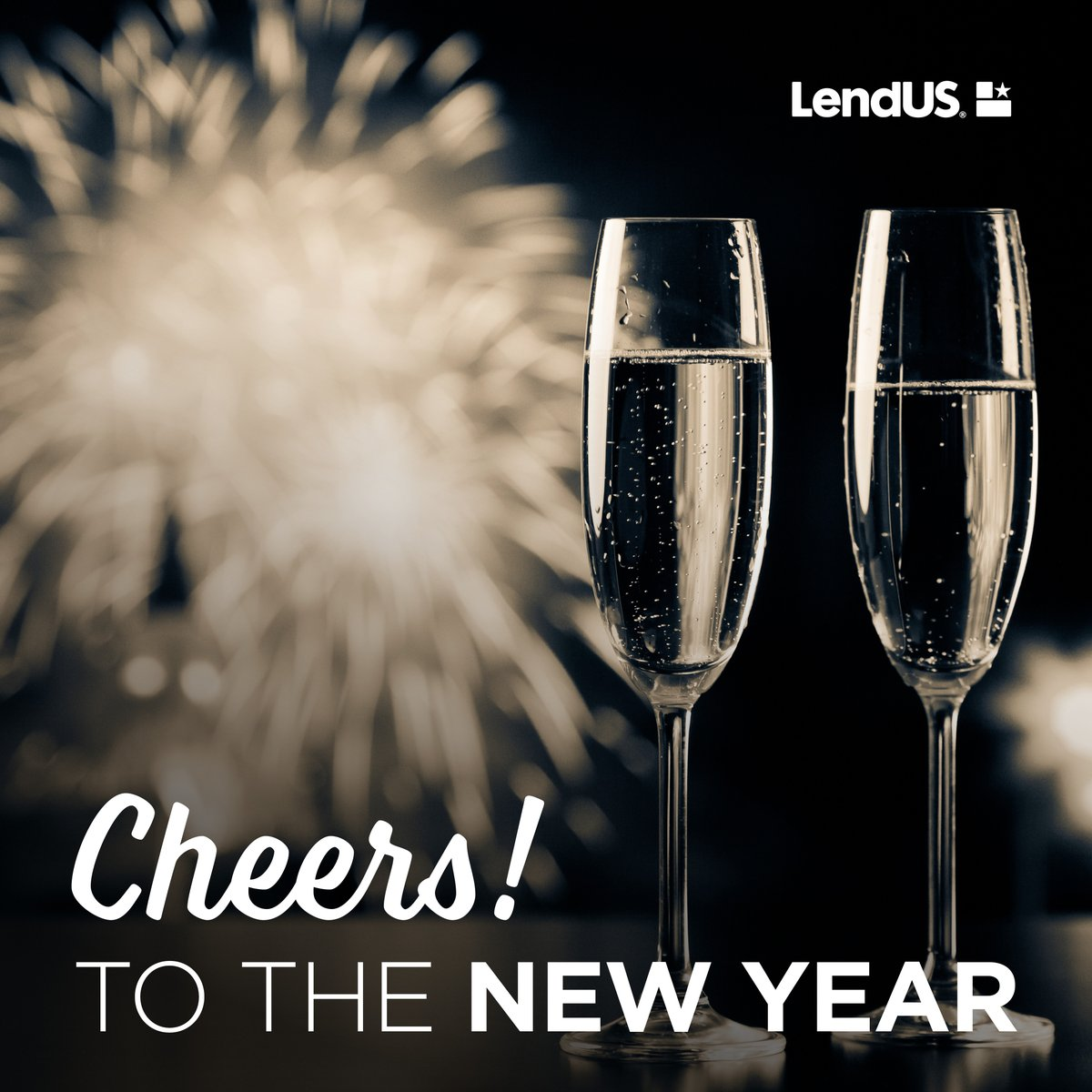 Bid adieu to the old and embrace the new with hope and ambition! Wishing you a New Year full of opportunities! 🥂Cheers to 2021  #lendusfamily #NewYearsEve https://t.co/XLlaeCLECS