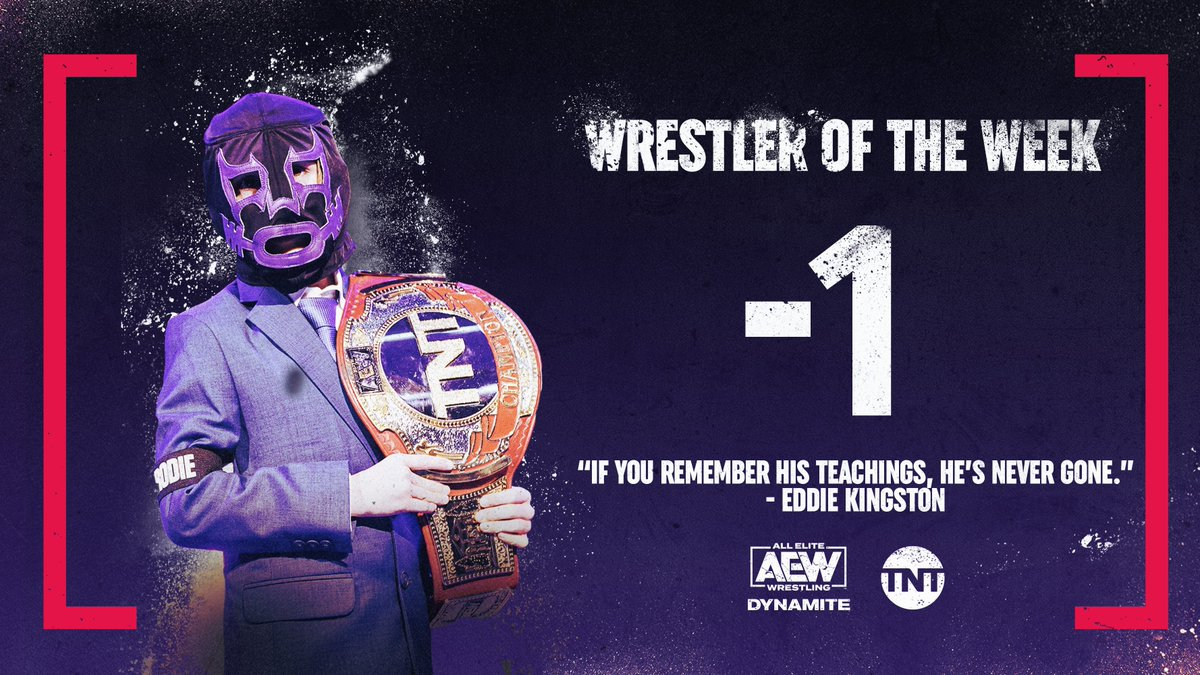 Brodie Lee Jr. Named TNT Champion For Life, AEW To Redesign Belt