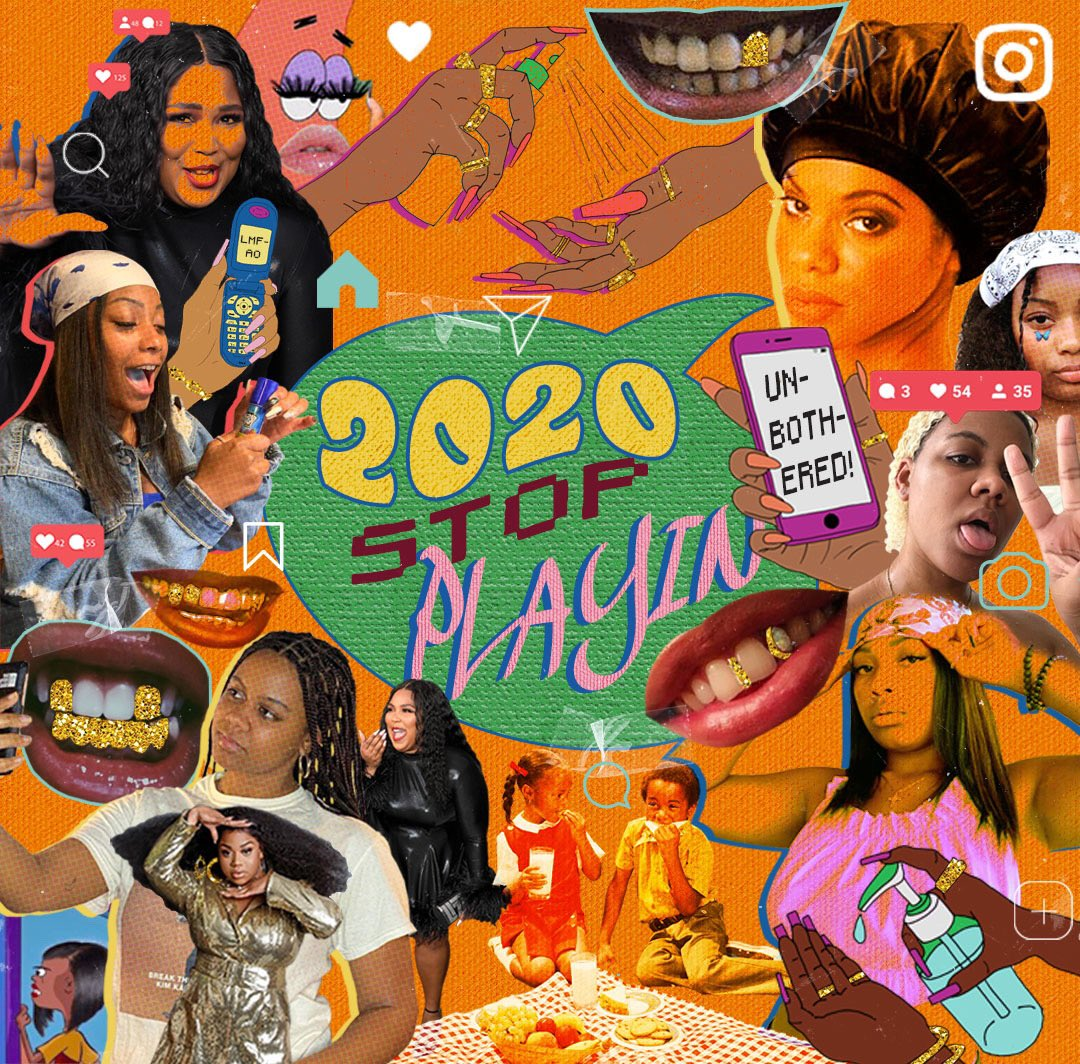 "RT instagram ""RT @Refinery29: #R29Unbothered called on @yungbbq, Jaraé Holieway, and @InStyle's Peyton Dix to highlight the memes & moments that made 2020 bearable:  """