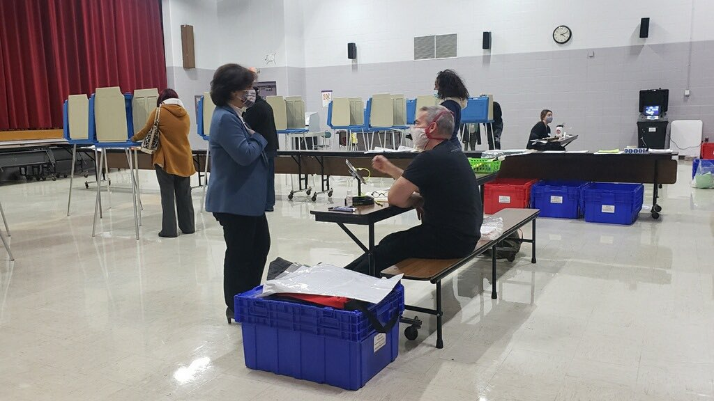 2020 brought substantial changes to how Rhode Islanders were able to #BeAVoter.   #ThankYouElectionHeroes- the public officials, poll workers, and community volunteers- who worked countless hours to ensure every Rhode Islander could make their voice heard this year.