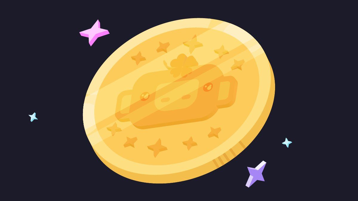 rt shiny wump coin for 10 years of good luck