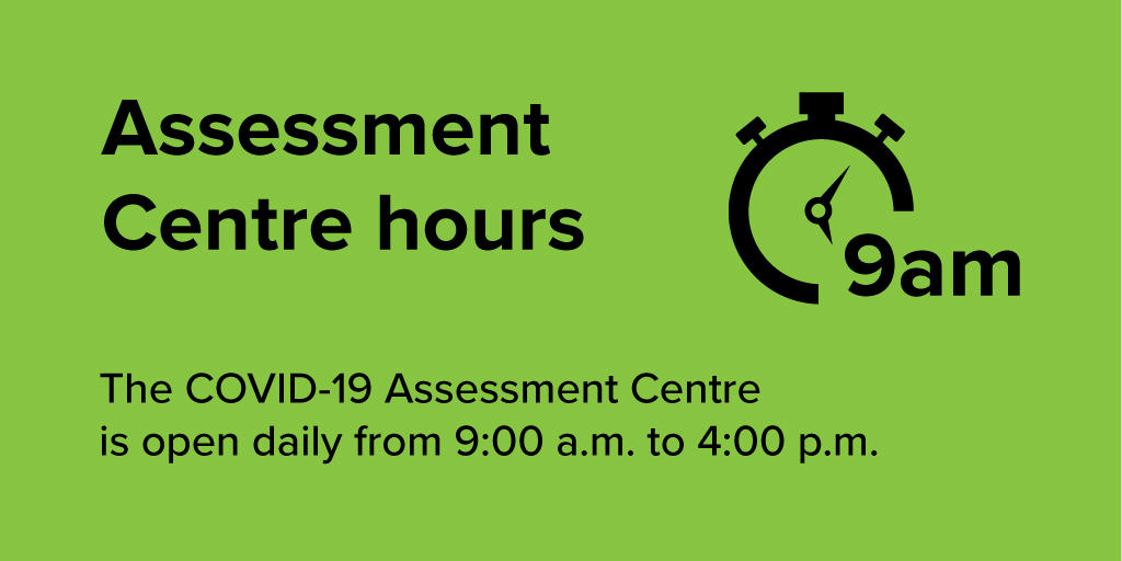 test Twitter Media - The #COVID19 Assessment Centre in #ygk is open from 9am to 4pm daily, including December 31 and January 1. Book online at https://t.co/prfehDmyi6 https://t.co/1wO5TchxWI