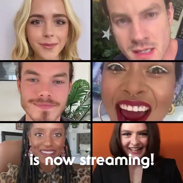 Replying to @sabrinanetflix: familiars fed ✔ spells cast ✔ caos streaming ✔