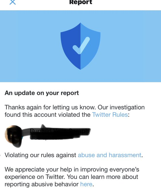 Every time you call me a transphobe or that I have internalized transphobia you get reported and look