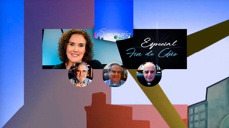 Estreno | #SemanarioOrbe21  Entrá y conocé los invitados de esta semana y horarios para ver el programa:   #FinDeAño #AñoNuevo #Adviento2020 #Adviento #Navidad #Navidad2020 #ErnestoGilDeza #SanJose  #PadreÁngelRossi #pesebre  Mons. Rino Fisichella @PCPNE_it