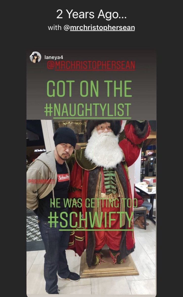 #TBT Hard to believe Christopher could ever be on the naught list!  #naughtylist #nicelist #someoneisconfused #santaclaus #christophersean