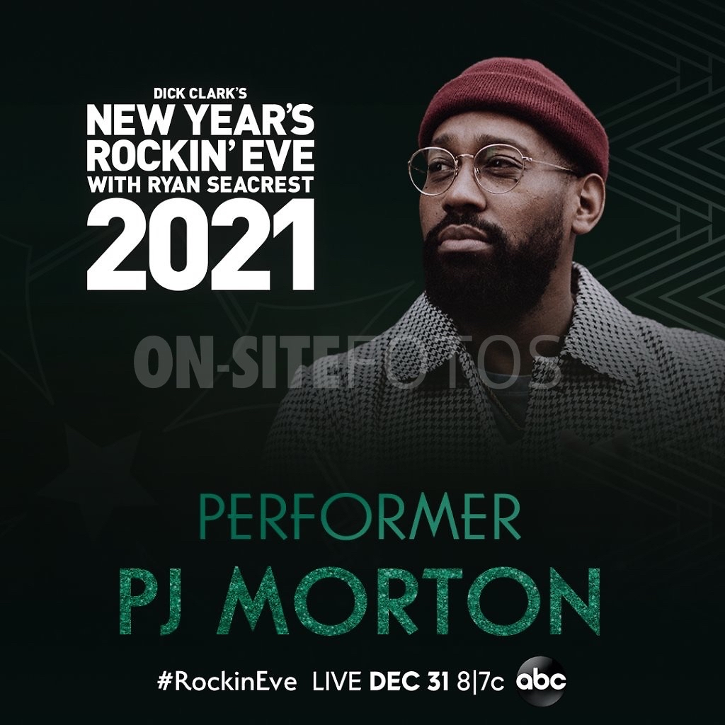 Dick Clark's New Year's Rockin' Eve with Ryan Seacrest 2021 (@NYRE) with @PJMorton  Browse the options to watch on @ABCNetwork→  • #RyanSeacrest #NYE #NewYearsEve #NewYork #NewYorkCity #NYC #PJMorton #RockinEve
