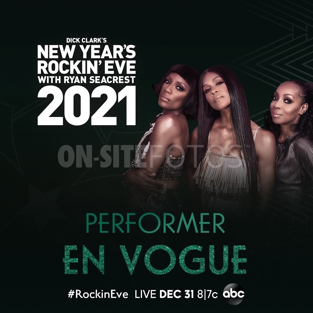 Dick Clark's New Year's Rockin' Eve with Ryan Seacrest 2021 (@NYRE) with @EnVogueMusic  Browse the options to watch on @ABCNetwork→  • #RyanSeacrest #NYE #NewYearsEve #NewYork #NewYorkCity #NYC #PJMorton #RockinEve