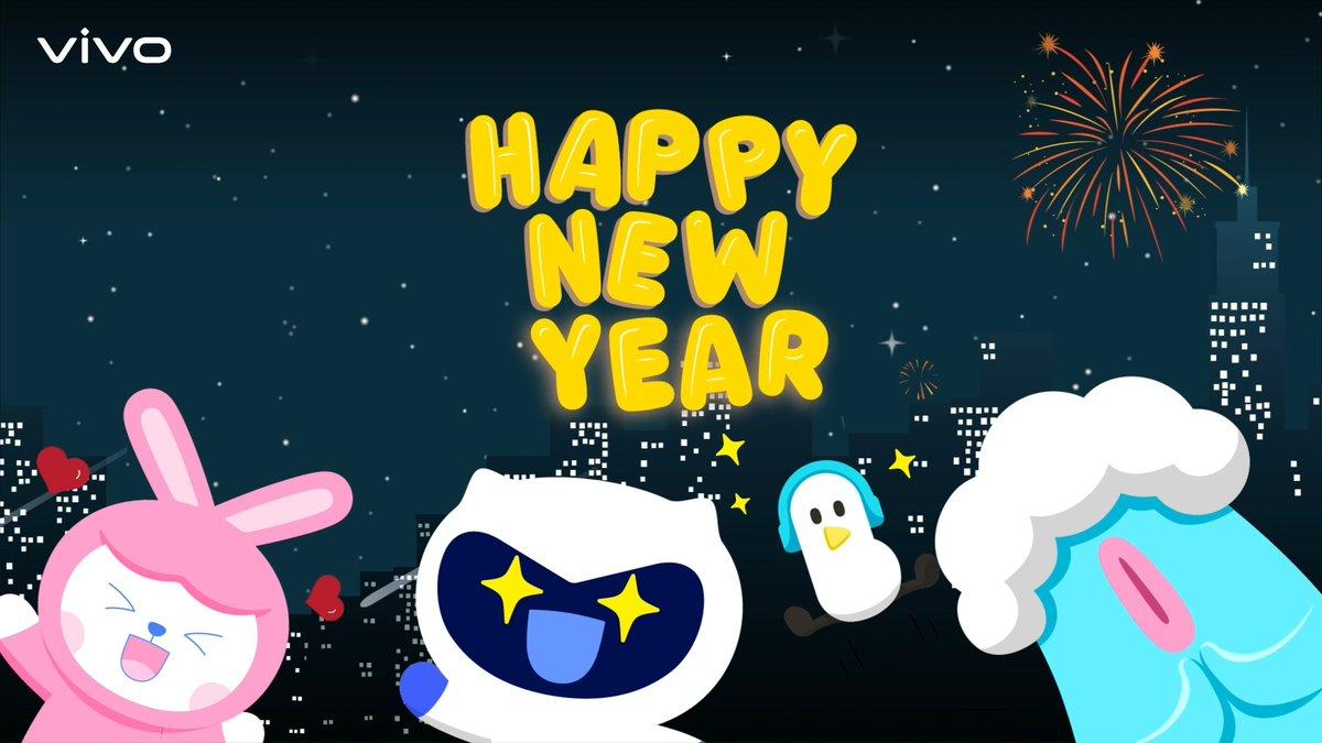 Tahun baru, semangat baru!  Ekspresikan keseruan tahun 2021 dengan menciptakan momen yang indah & luar biasa bersama vivo. Happy New Year everyone! Jaga kesehatan kamu dan keluarga ya.
