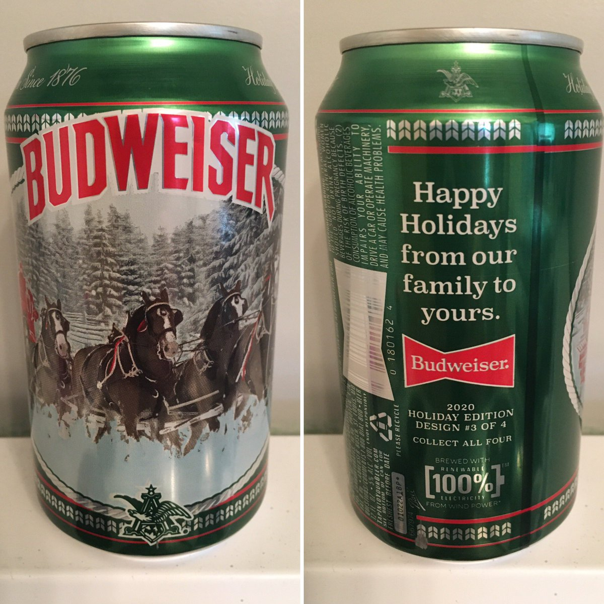 @Budweiser @budweiserusa 2020 Holiday Edition Design 3 of 4 #canmuseum