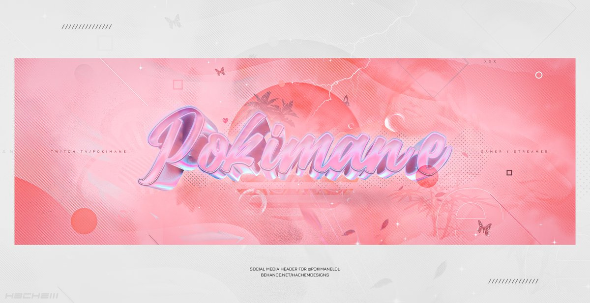Replying to @hachemdznn: Social Media Header for @pokimanelol . RT's & Favs are appreciated!  HD :