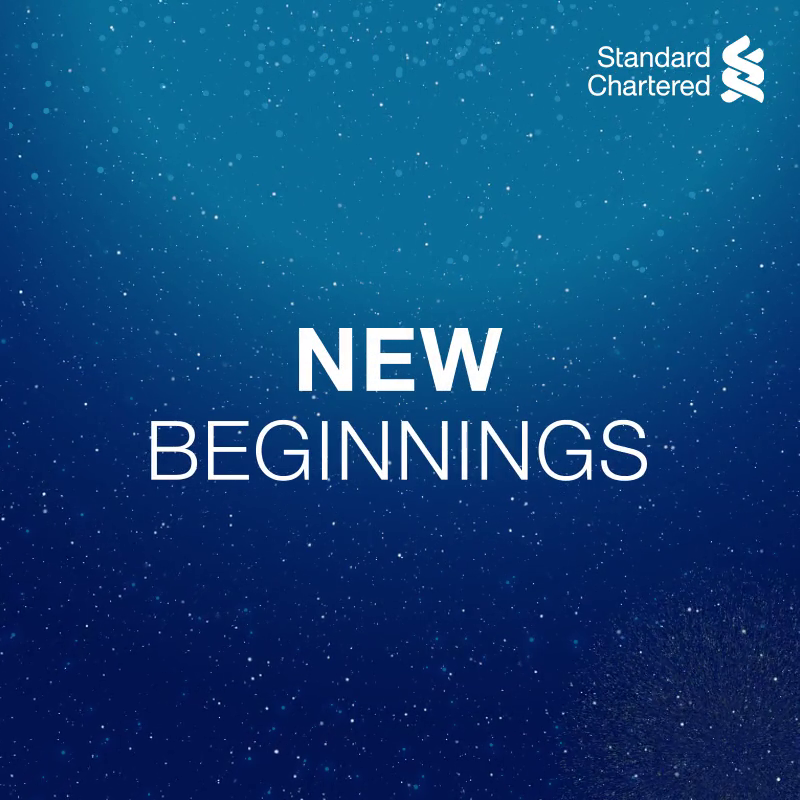 May this New Year bring all the happiness, safety and prosperity to your life. Here's wishing you and your family a very Happy New Year! #HappyNewYear #StandardChartered