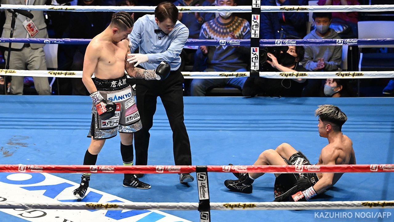 Kazuto Ioka hizo valer su mayor experiencia ante Kosei Tanaka