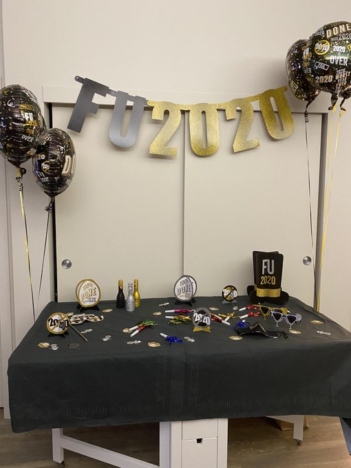 Bye bye 2020!! May 2021 bring new friends, adventures and growth for all of us. From the bottom of my
