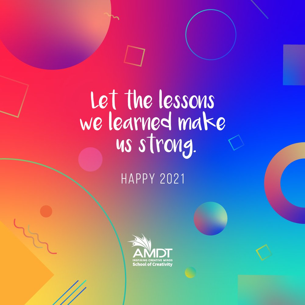 2020's lessons have made us stronger to face 2021. Let's cross our fingers, keep our chins high, stand together and keep each other safe and sane.   #WeAreAMDT #CreativityStartsHere #Creativity #2021 #NewYear #NewDecade #ResponsibleSriLankan #SriLanka #Maldives https://t.co/zcUUtjChQL