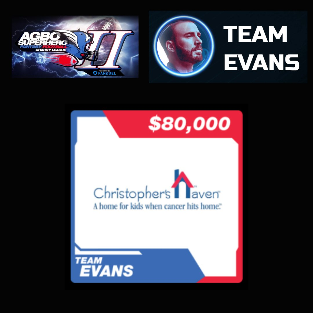 Wow, we are so honored and grateful to @ChrisEvans, @agboleague, and @FanDuel for giving us the opportunity to be involved in such a fun fundraiser! Congrats to all the other amazing charities who won!