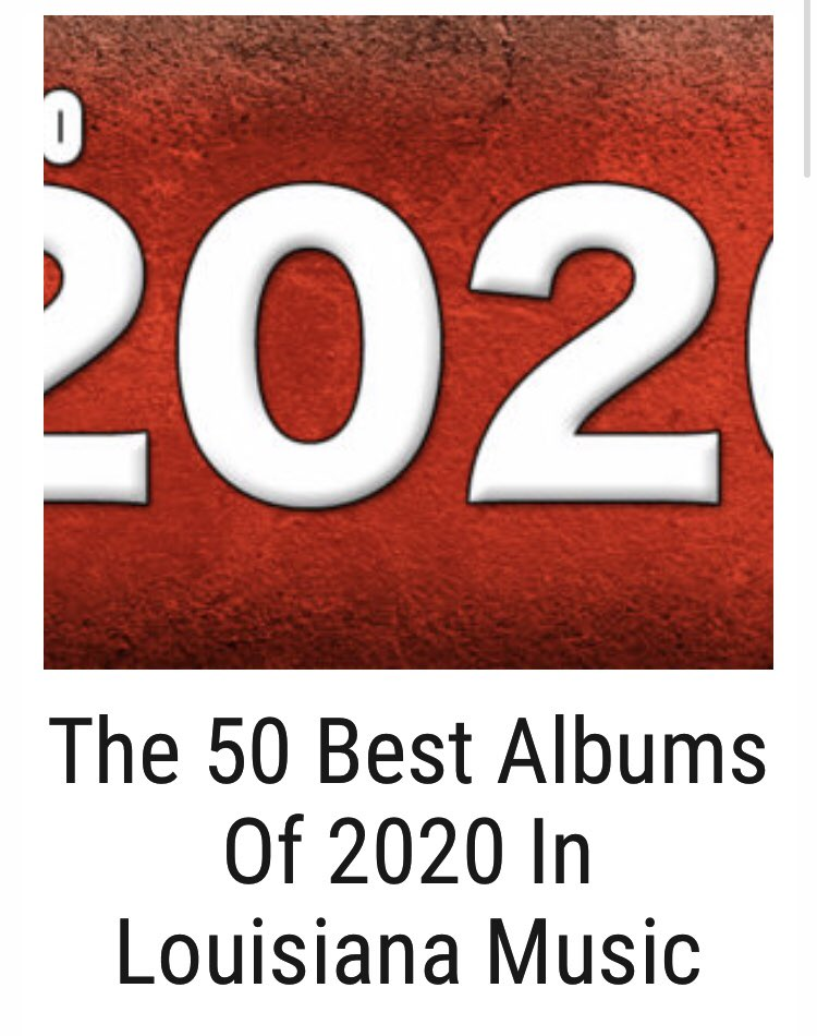 "Thanks @OffBeatMagazine for putting our DEBUT, self-released, GRAMMY NOMINATED album on the TOP 50 Albums list!!! ""By the time its all said and done, Cameron Dupuy should be on every list of top Cajun accordionists of all time.""-Dan Willging #GRAMMYs  #grammynominated #GRAMMYnoms"