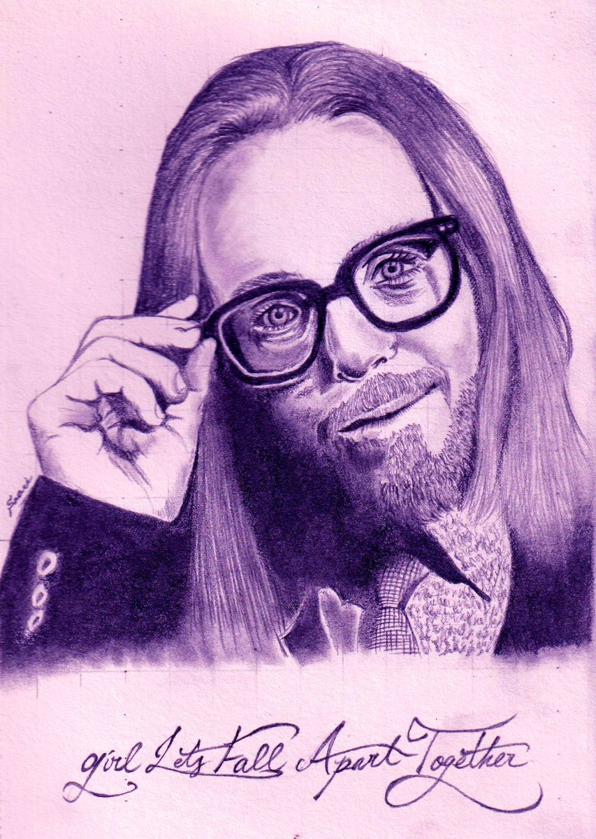 Happy New Year all! Hope you spend calm days like his smile, with good wine and cheese!  #TimMinchin #ApartTogetherAlbum #Pencildrawing