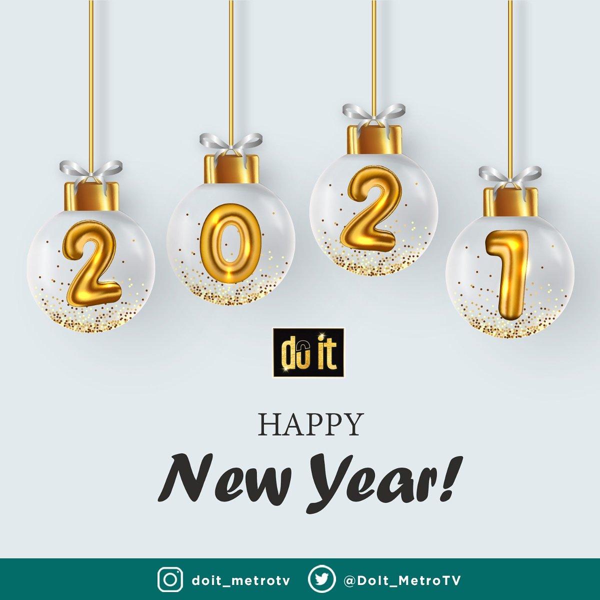 2020 menjadi tahun yang sulit untuk kita semua, kini tahun tersebut telah berlalu. Semoga di tahun 2021 ini kita semua dapat bangkit dari kesulitan yang menerpa dan menjadi pribadi yang lebih baik lagi serta sukses untuk ke depannya. Aamiin...🤩  Selamat Tahun Baru 2021. 🙌