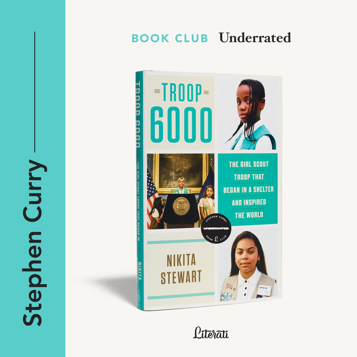 Excited to start 2021 with this one. January's Underrated book club selection ➡️ Troop 6000 by @kitastew.