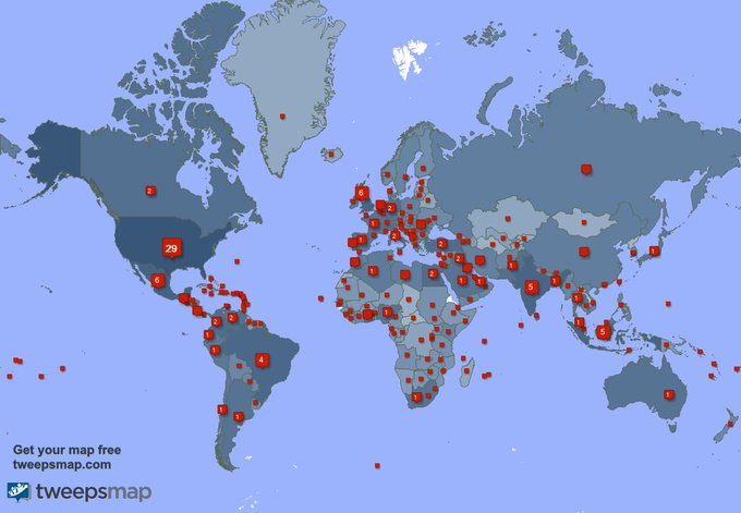 I have 1306 new followers from Turkey 🇹🇷, Egypt 🇪🇬, Bangladesh 🇧🇩, and more last week. See https://t