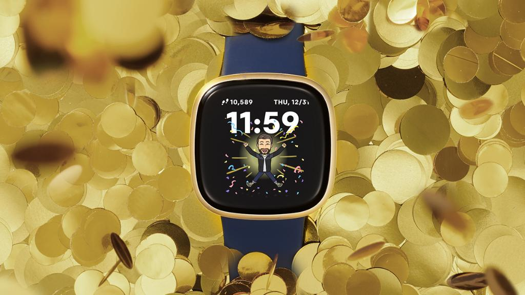 When the smartwatch strikes midnight…HAPPY NEW YEAR! You probably don't need to set an alarm for this one 🥳 #newyears #newyearseve #2021