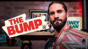 These are my four top favorite guesses on @WWETheBump for this year: @WWERollins, The Man @BeckyLynchWWE, my favorite WWE champion @DMcIntyreWWE and my favorite #SmackDown women champion #TheLegitBoss @SashaBanksWWE 💙❤️
