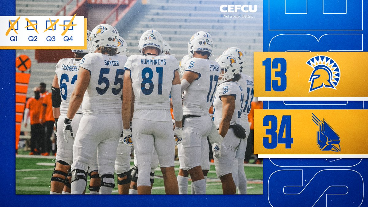 Final from Tucson.   #SpartanUp | @CEFCU