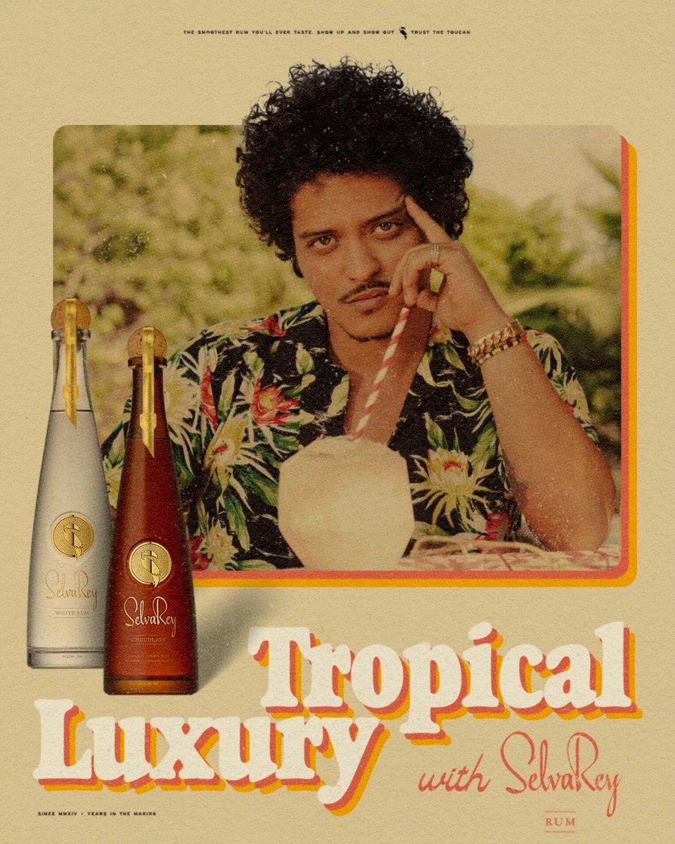 @kenwab84 @BrunoMars Not when you're making Bruno's Dancing Juice & using @SelvaReyRum 💗 #TropicalLuxury
