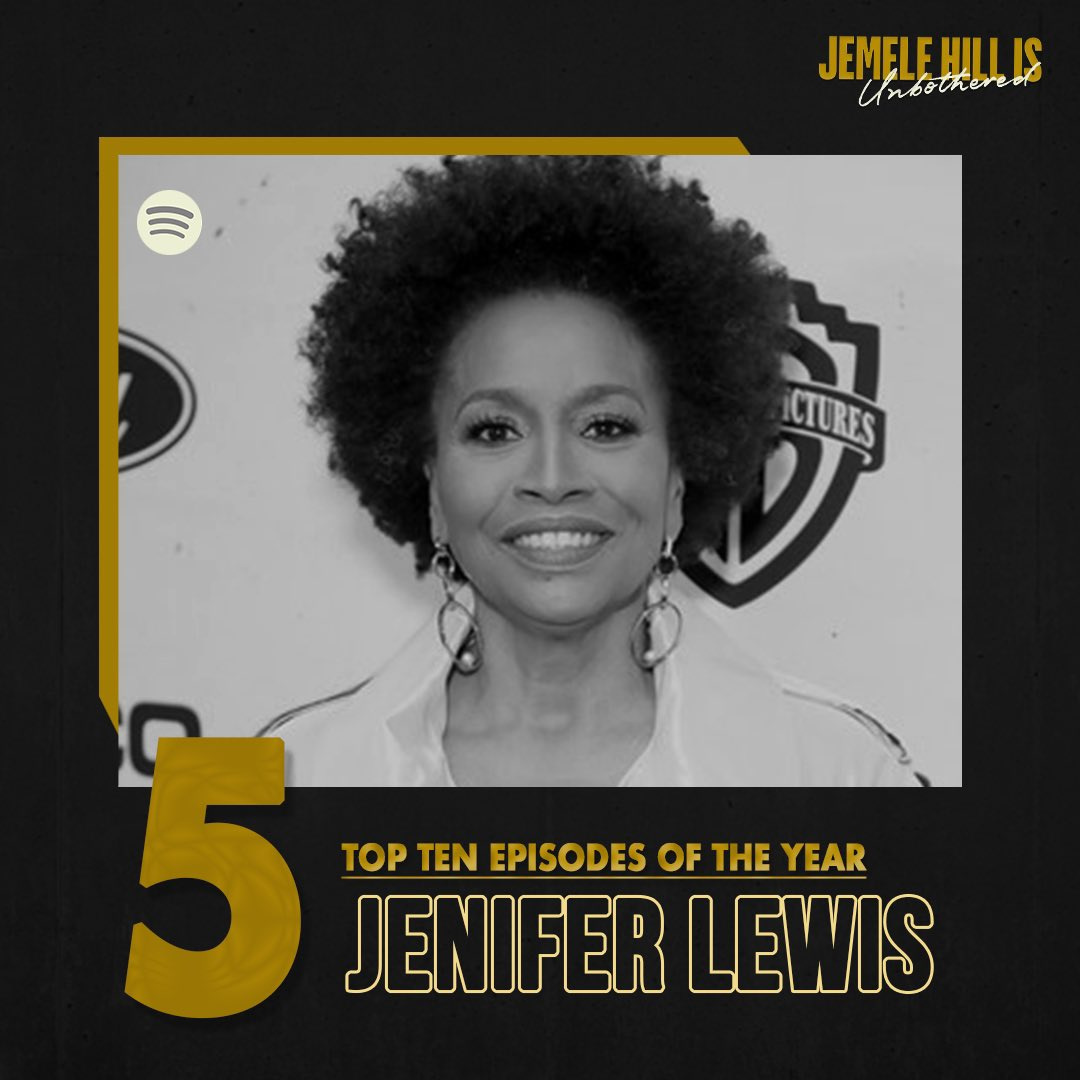 5. Walking in joy with @JeniferLewis! She weighs in on several racial and social justice issues and reveals how she's dealt with racist encounters at various points in her life.  LISTEN: