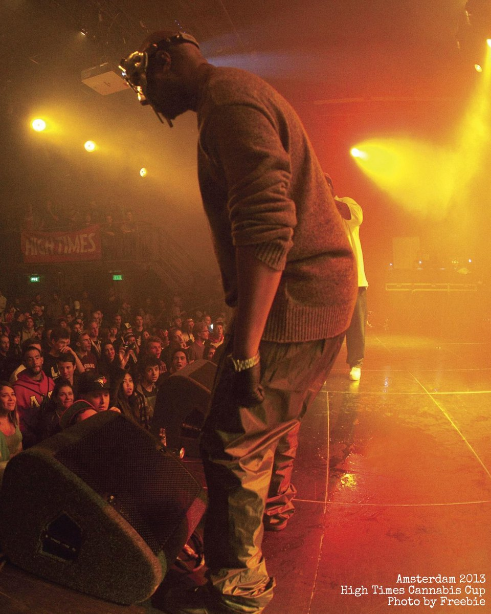 Damn. 😔 RIP MF DOOM, the mysterious masked marvel. Gone  at just 49 - too soon, my dude.  Seen here performing here at the 25th High Times #CannabisCup in Amsterdam, 2013. From what we saw, #MFDOOM could appreciate some good weed. Smoking one for you @MFDOOM. #ripmfdoom https://t.co/kKLBOCHkY9