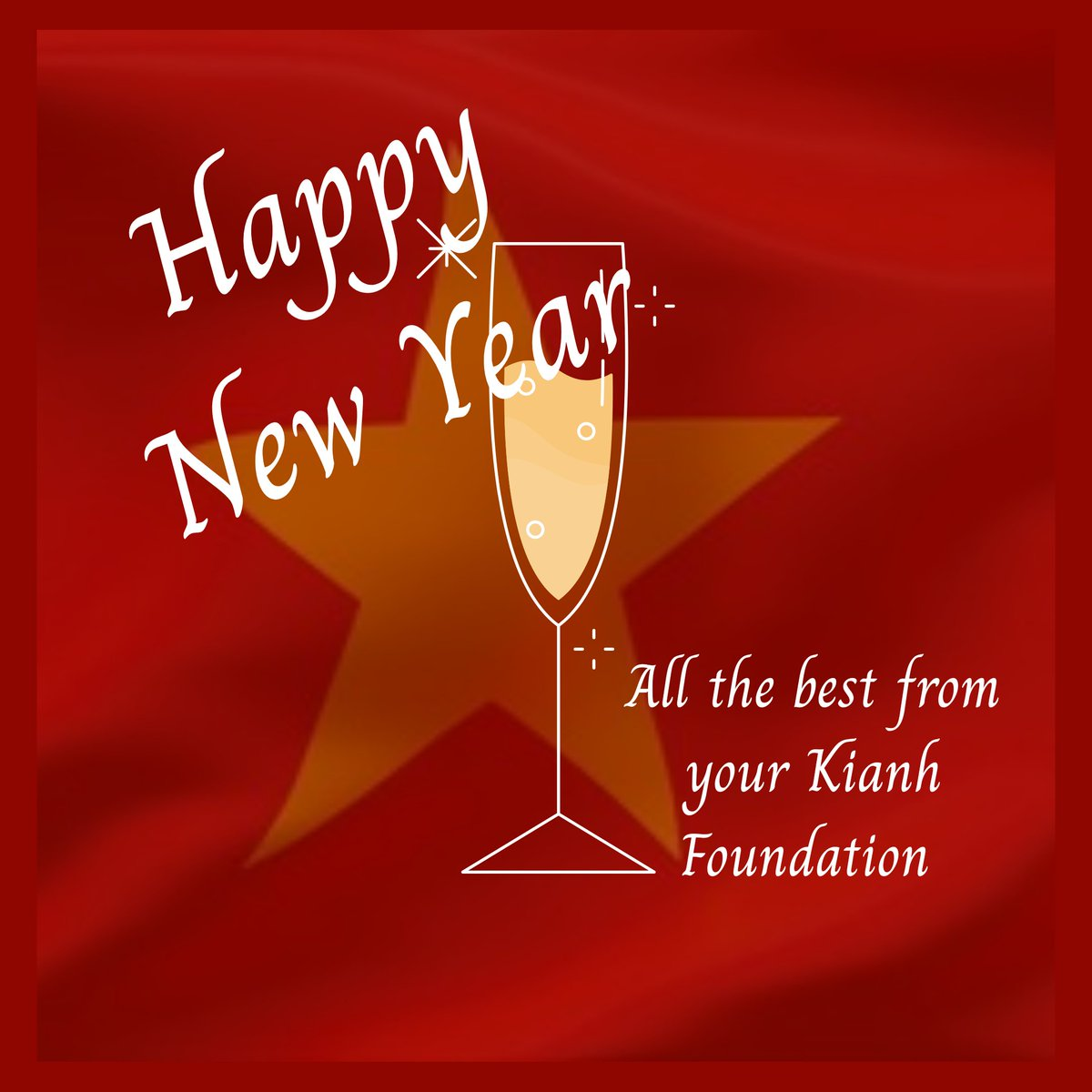 🥂 Wishing you all a peaceful and fulfilling 2021. All our best, from your Kianh Foundation.   #HappyNewYear2021 #HAPPYNEWYEAR  #unionisstrength #givingtuesday #givingback #givingtuesday2020 #EverybodyBenefits #Fundraising #Donate #Charity #hoianvietnam #hoian #danang #vietnam