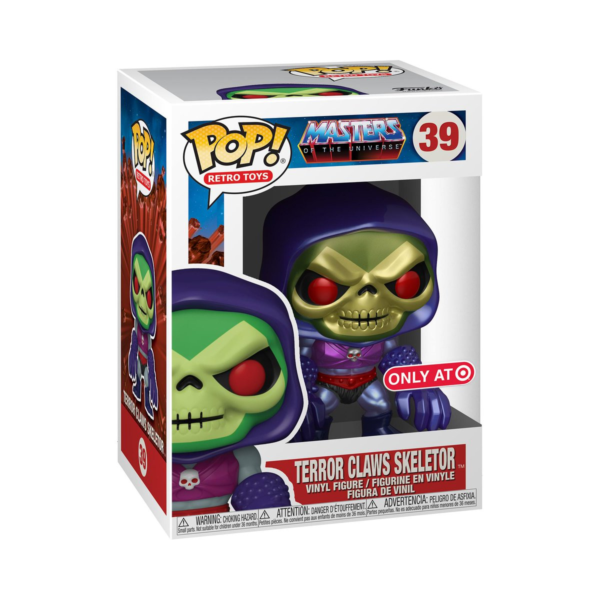 RT & follow @OriginalFunko for the chance to WIN this Target exclusive Terror Claws Skeletor Pop! #Funkogiveaway #giveaway #Funko #FunkoPop #MOTU