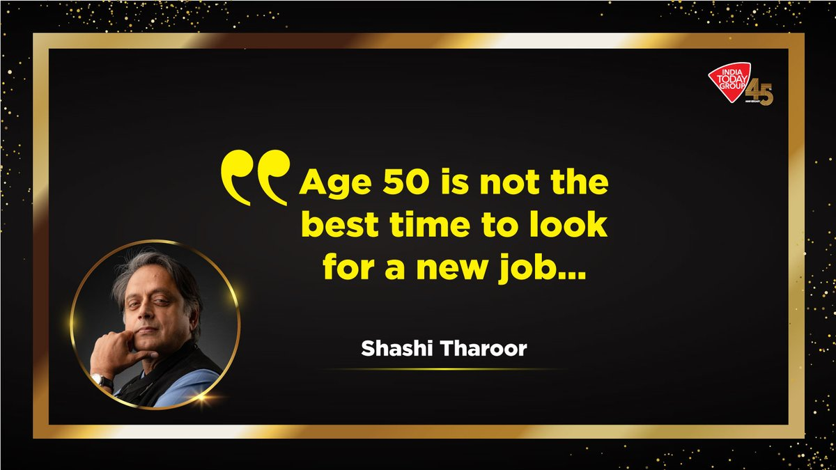 Click   to read what laid the foundation for Shashi Tharoor's political innings in India? India Today on its 45th anniversary issue explores such achievers who will inspire you with their life-changing stories.  #MagazinePromo